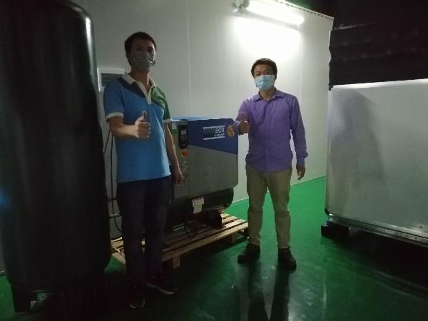 李兰娟两赴武汉抗疫,熔喷布配套空压机厂家提供无油压缩空气助力