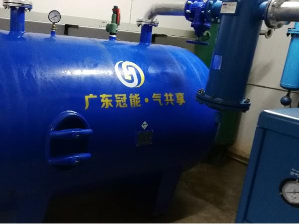 东莞市威尔达金属铝业制品有限公司再次选择了深圳变频螺杆空压机