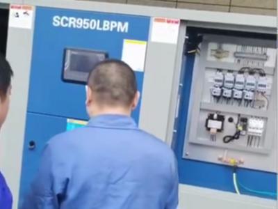3公斤低压永磁螺杆空压机为纺织厂节能省电一年就达45万
