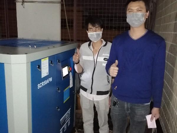 熔喷布配套空压机