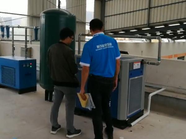 节能降噪保生产斯可络低压永磁空压机助力汕头新华城纺织