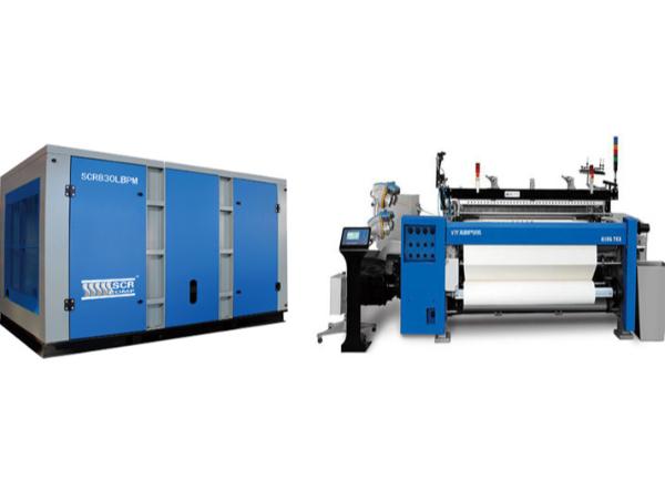 纺织机配套专用空压机
