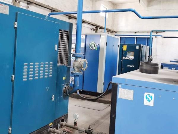 山西某水泥企业选择4台90KW永磁变频空压机进行节能改造